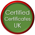 Certified Certificates UK